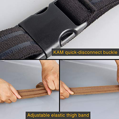 IDOGEAR Thigh Strap Tactical Leg Strap for Thigh Holster Leg Hanger Military Airsoft Hunting Belt