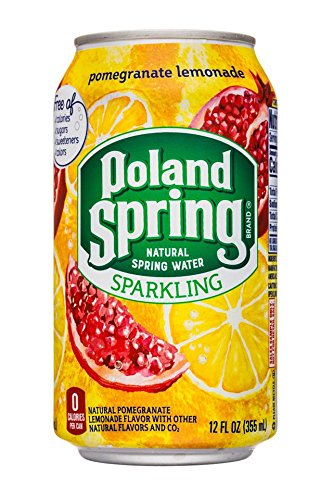 Topics on TV Poland Spring Sparkling Natural Can Pomegranate Le Water Nippon regular agency