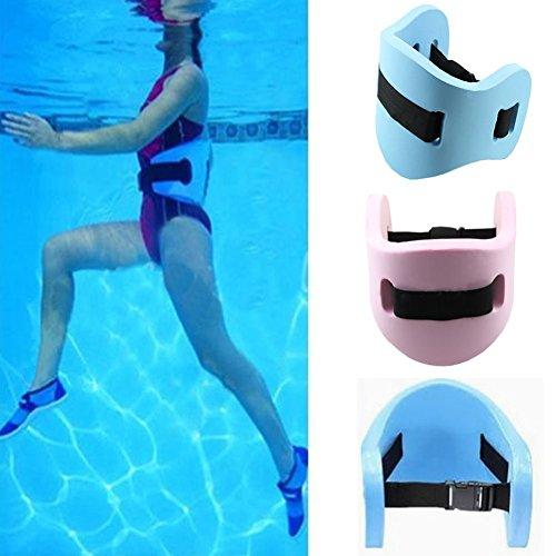 Qling, Cintura galleggiante in schiuma EVA, per adulti e bambini, per nuotare in tutta sicurezza, Blue, Taglia libera