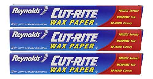 Wax Paper - Pack of 3
