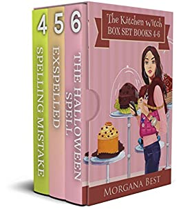 The Kitchen Witch: Box Set: Books 4-6: Cozy Mystery (The Kitchen Witch Series Boxset Book 2) by [Morgana Best]
