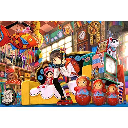 Puzzels 1000 Stuks, 1000/2000/3000/4000 Stukjes, Briefpapier Winkel, Houten Puzzel Home Entertainment Educatief Spel Puzzel Cadeau -4.28 (Size : 1000 pieces)