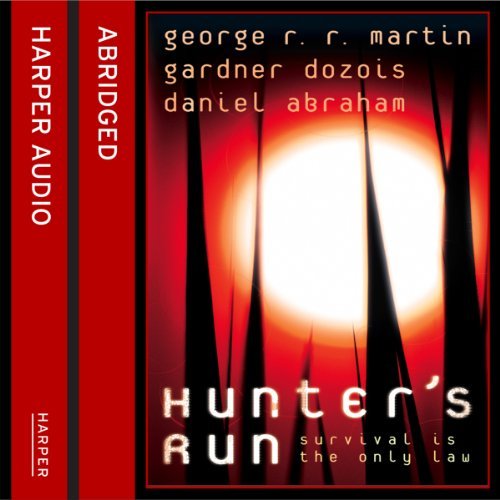 Hunter's Run audiobook cover art
