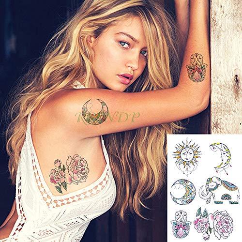 tzxdbh 2 Piezas Impermeables Tatuajes temporales del Tatuaje se ...