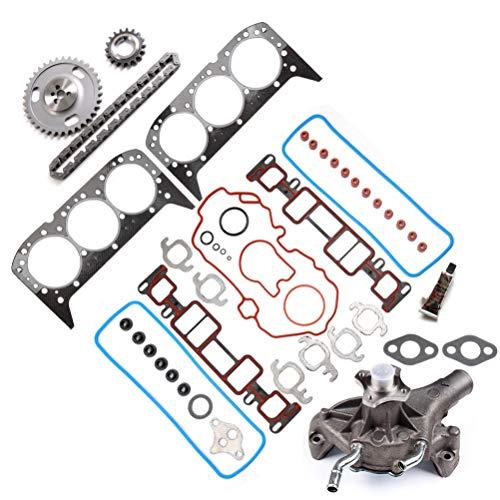 ECCPP Kit de cadena de distribución de repuesto para motor, juego de juntas completas compatible con…