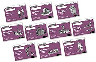 Read Write Inc. Phonics: Black and White Purple Set 2 Storybooks Mixed Pack of 10