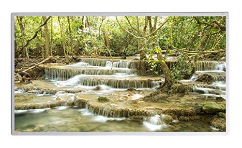19 Bildheizung im Shop Infrarot Heizung 600 Watt Wasserfall Fluß Fern Infrarotheizung - 5 Jahre Herstellergarantie- Elektroheizung mit Überhitzungsschutz - Infrarotheizung Heizt bis 18m² Raum -