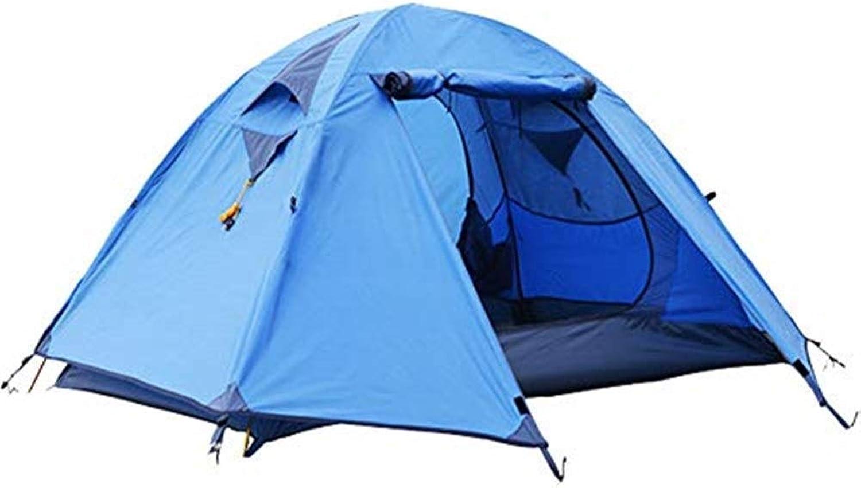 DSRC Outdoor-Zelt Outdoor Camping Zelt, Mehrpersonen Doppeltür Doppeltür Mesh Regen Camping Professionelle Aluminium Pole Zelt, Geeignet Für 34 Personen, 95