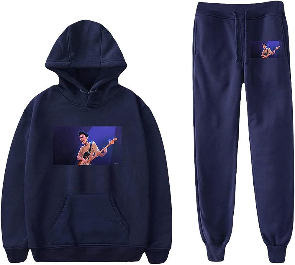 Unizka Jacob Collier Hoodie&Pants Male Casual Sweatshirts Pants Hip Hop Rapper Two-Pieces Suits