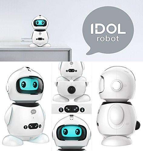 Idol Robot studiato per l'apprendimento dei bambini Insegna le basi di matematica,della lingua italiana,a fare ragionamenti e ad interagire