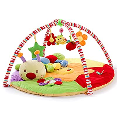 Baby Play Gym Mat for Infants, Baby Floor Activity Center Mat Soft Playmats for Baby Toys 0 3 6 9 to 12 Months Newborns Babies Toddlers Girl and Boy Gifts