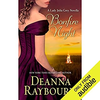 Bonfire Night                   Written by:                                                                                                                                 Deanna Raybourn                               Narrated by:                                                                                                                                 Ellen Archer                      Length: 2 hrs and 4 mins     2 ratings     Overall 4.5