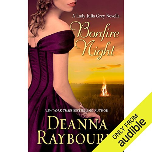 Bonfire Night audiobook cover art
