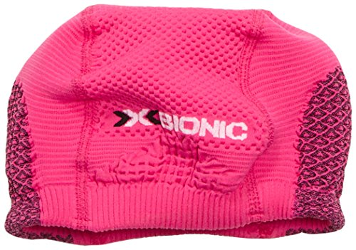 X Bionic Ow Soma Bonnet Multisports Unisexe pour Adulte Rose Rosa (Pink/Black) 1