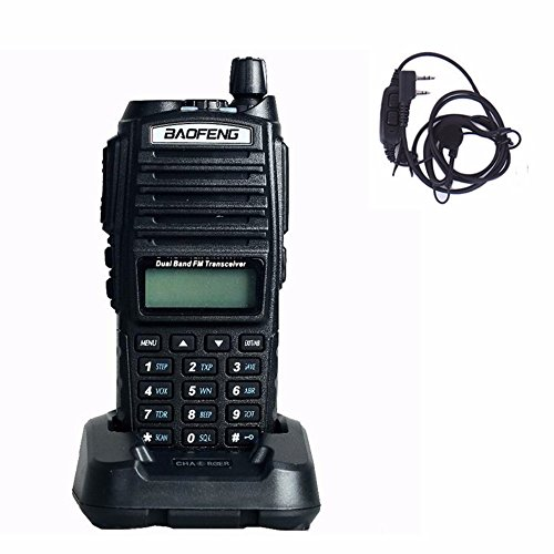 Review Baofeng UV-82 Walkie Talkie 136-174MHz 400-520Mhz UV82 UP Dual Band Amateur Ham Handheld Two ...