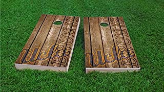 Tailgate Pro's NCAA Team Cornhole Boards, ACA Regulation Size, Comes with 2 Boards and 8 Corn Hole Bags