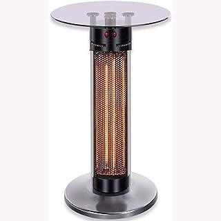 Bxiaoyan Temperato riscaldatore Balcone di Vetro con Riscaldamento radiazione infrarossa, Cassetta di Sicurezza e Riscalda...