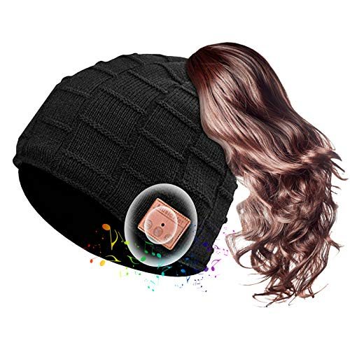 (62% OFF) Bluetooth Wireless Speaker Beanie Ponytail Compatible $9.88 – Coupon Code