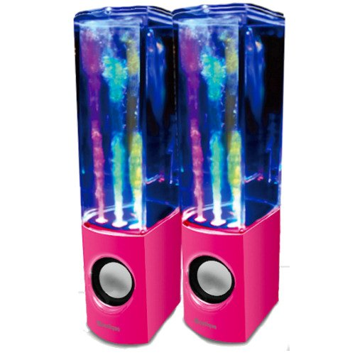 iBoutique ColourJets USB Dancing Water Speaker for...