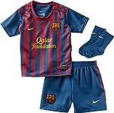Maillot et Short FC Barcelone Home JR Bleu-Grenat T:6 mois
