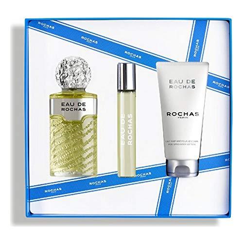 Set de Perfume Mujer Eau de Rochas EDT (3 pcs) Perfume Original | Perfume de Mujer | Colonias y Fragancias de Mujer