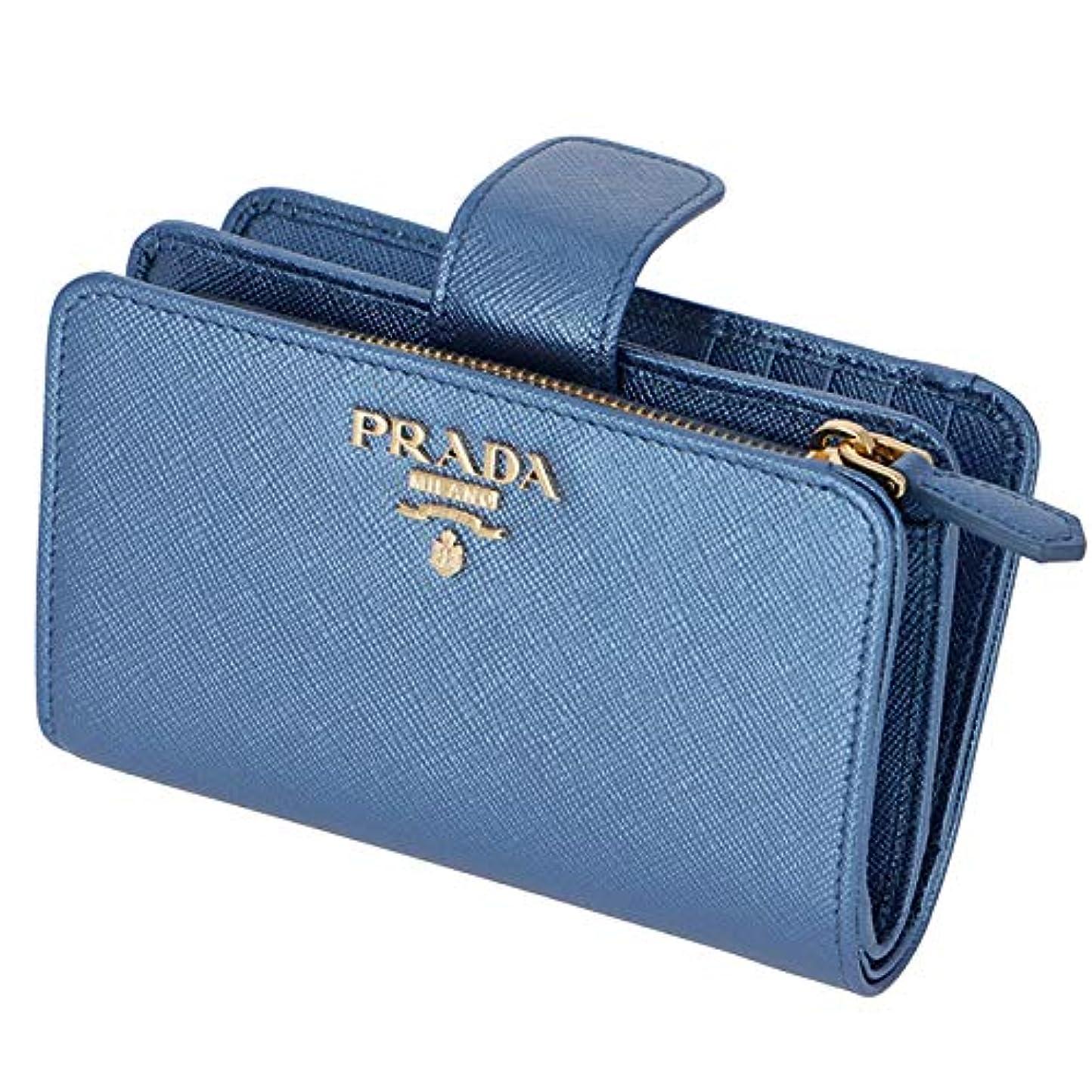 やめるベル他のバンドでPRADA(プラダ) 財布 二つ折り 二つ折り財布 折財布 サフィアーノ 財布 レディース 二つ折り財布 1ML225 QWA CSQ [並行輸入品]