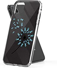 Case Phone Prostate Cancer Awareness Dandelion Men Women (6.1-inch Diagonal Compatible with iPhone 11)