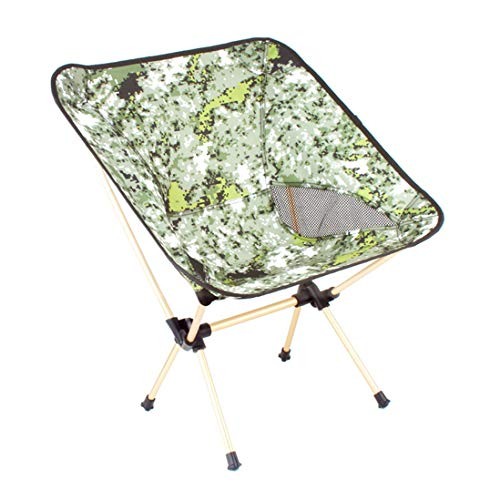 zhxinashu Pêche Pliage Portable Tabouret de Camping - Ultra Léger Jardin Chaises Repos Voyage Plage Stade Siège Pliant Barbecue Banc Vert