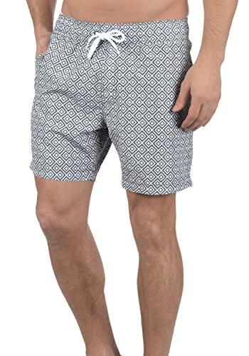 Blend Meo Bañador De Natación Short para Hombre, tamaño:XXL, Color:Granite (70147)