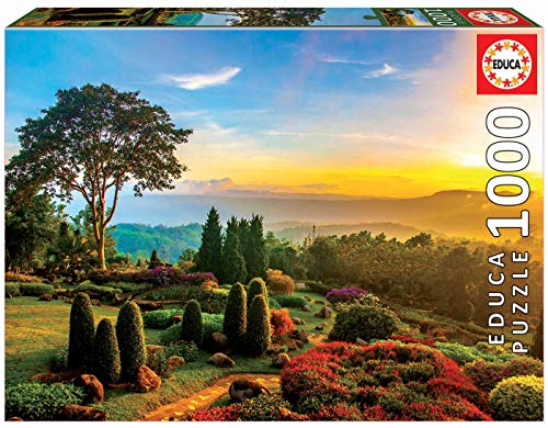Educa Puzzle Jardim Maravilhoso 1000 peças - 17968