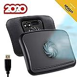 KLIM™ Comfort + Base de refrigeración para portátil + Protégete del Calor y Evita el sobrecalentamiento + Nueva 2020 + Silenciosa y cómoda, Compatible de 10 a 15,6' + Muy Estable + Bajo Ruido