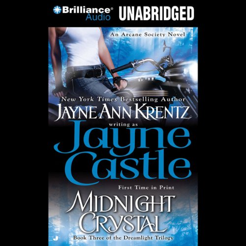 Midnight Crystal audiobook cover art