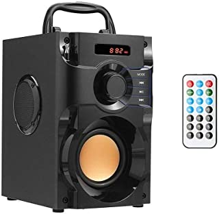 $36 » Portable Bluetooth Speaker Wireless Subwoofer Stereo Bass Speakers Outdoor Powerful Speaker Support Remote Control FM Radi...