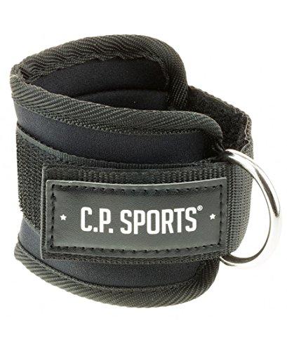 C.P. Sports Zughilfen Hand und Fußschlaufe, Schwarz, One size