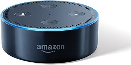 Certified Refurbished Echo Dot (2nd Gen) - Smart speaker with Alexa (Black)
