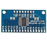 HALJIA CD74HC4067 analógico Digital CMOS 16 canales multiplexor Compatible con tarjeta de...