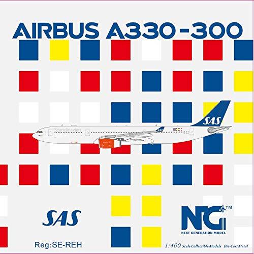 NG Model NGM62008 1:400 SAS Airbus A330-300 Reg #SE-REH (pre-Painted/pre-Built)