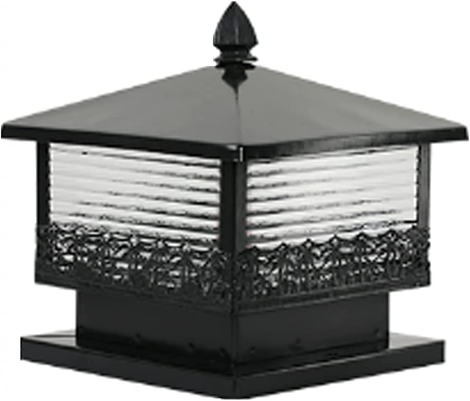 HSCW Post Light Outdoor Solar Now on sale LED for Cap Fence 4x4 Wooden Lamp A surprise price is realized
