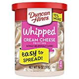 Duncan Hines Whipped Cream Cheese Frosting, 8 - 14 OZ Cans