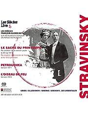 ストラヴィンスキー : 3大バレエ / フランソワ=グザヴィエ・ロト & レ・シエクル (Stravinsky : Le Sacre du Printemps | Petrouchka | L'Oiseau de Feu / Les Siecles | Francois-Xavier Roth) [2SACDシングルレイヤー] [Limited Edition] [日本語帯・解説付]