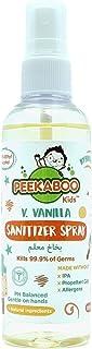 Peekaboo Kids Hand Sanitizer Spray, V. Vanilla, 100 ml