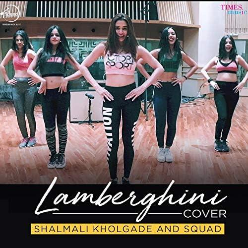 Shalmali Kholgade & Squad