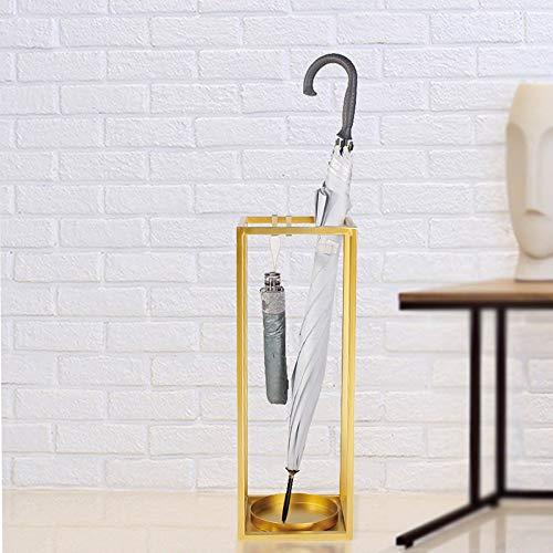 XX- Schirmständer Kerzenständer schmiedeeisernen Schirmständer kreative einfache Home-Office-Lobby Hotel Veranda Sonnenschirmständer Heimtextilien - 2 Möglichkeiten ^ * ^ ( Color : Golden large )
