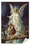 Postereck - Poster 0154 - Schutzengel und Kinder, Altes