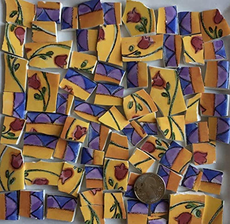 Mosaic Art & Craft Supply ~ Lighthouse Ocean Birds Blue Tiles (A537)
