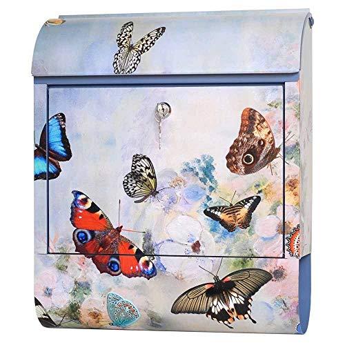 Maria Becker/Diebrievenbus firma brievenbus vlinder