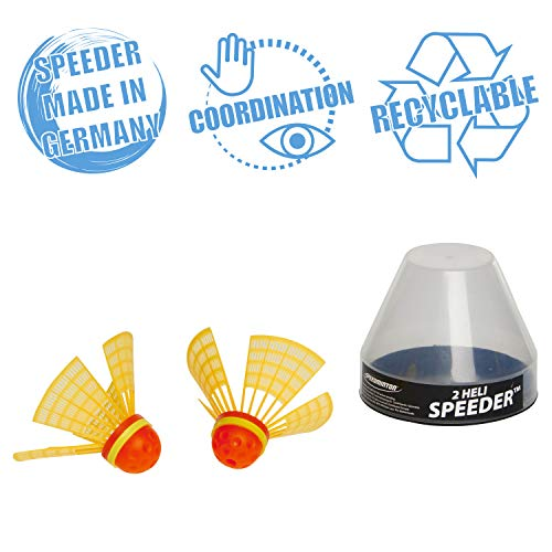 Speedminton Heli Speeder 2 Pack for Crossminton and Speed Badminton