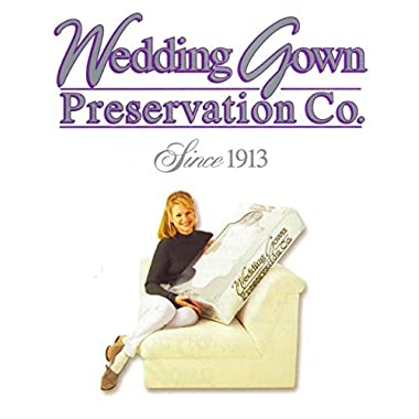 Wedding Gown Preservation Kit, Prepaid Dress Cleaning and Preserving