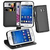 Cadorabo - Book Style Hülle für > Samsung Galaxy ACE Style LTE < - Hülle Cover Schutzhülle Etui Tasche mit Standfunktion & Kartenfach in Phantom-SCHWARZ