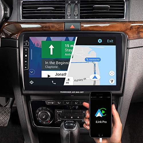 DYNAVIN Autoradio Navi für Skoda Superb 2008-2015, 10,1 Zoll OEM Radio mit Bluetooth, inkl. DAB+, USB, Kompatibel mit Carplay und Android Auto: DX-SK-70 Flex